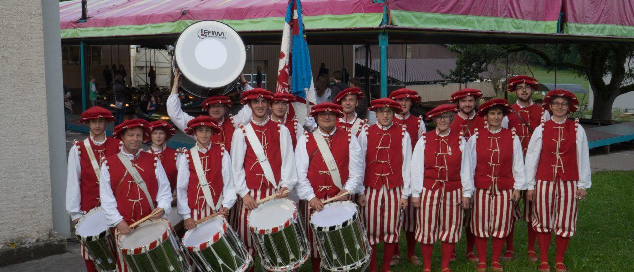 Der Tambourenverein Elgg in Baulmes (VD)